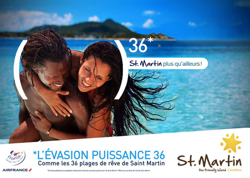Saint-Martin s'affiche en Ile-de-France et sur Internet