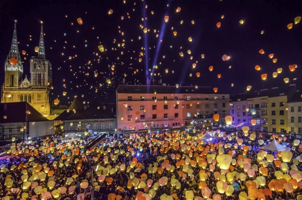 Zagreb est à la fête à Noël. Photo: Mirsad Mehulic - ONT Croatie