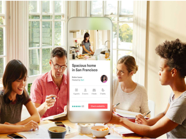 """Airbnb veut faire jouer ses tarifs plus avantageux et sa flexibilité certaine par rapport aux traditionnels hôtels, pour imposer ce qu'elle nomme """"une nouvelle idée du voyage d'affaires"""" - © Airbnb business travel"""