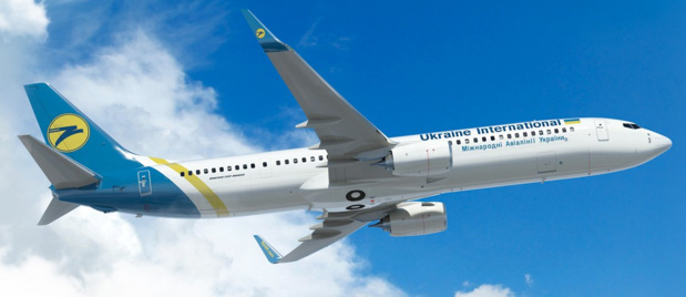 Ukraine International Airlines volera entre Paris et Eilat - Photo : UIA