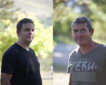 Philippe Peeters et Jean-Baptiste Grillet, co-fondateurs de Terre Constellée - DR : Griters