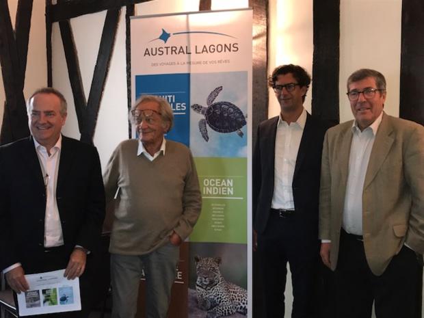 Austral Lagons a présenté ses brochures, et a fait le bilan sur la saison qui s'achève