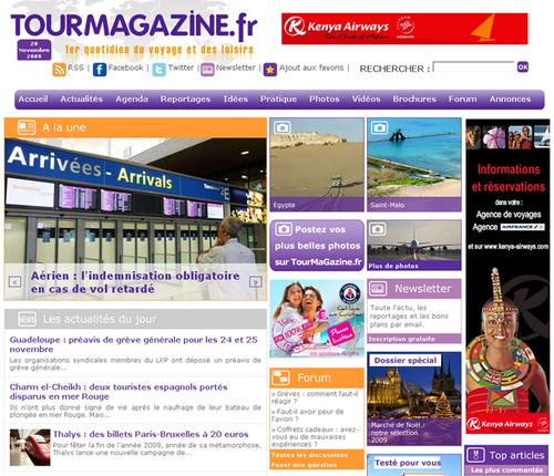 Cliquer pour voir la nouvelle maquette de TourMaGazine.fr