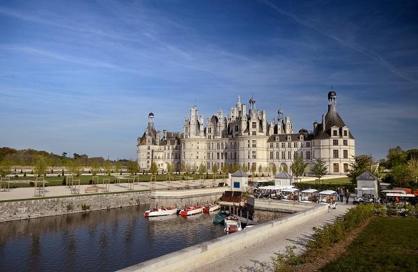 La fréquentation repart de l'avant au château de Chambord, après une année 2016 difficile - Crédit Photo : chambord.com