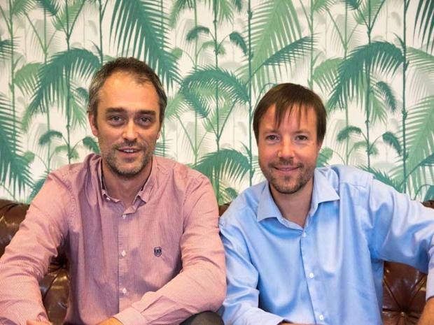 Yoann Jafrain et Benoit Baudaux, les deux co-fondateurs de FokusMap - Crédit : FokusMap