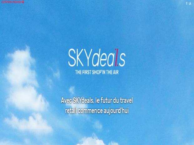 Site web Skydeals Crédit : Skydeals