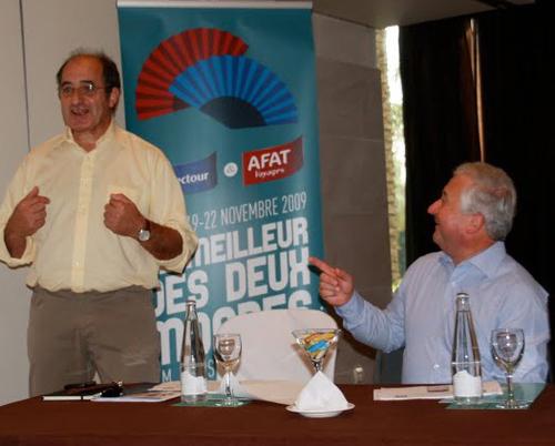 Jean-Pierre Mas et François-Xavier de Bouard