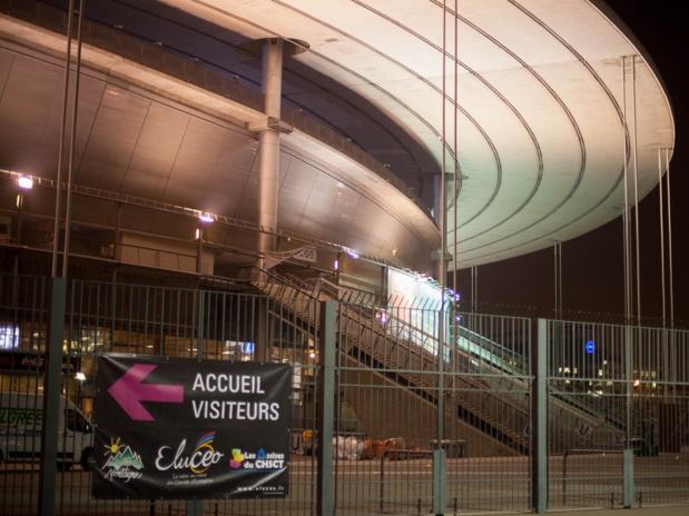 Temps fort pour Eluceo : la visite du Stade de France - DR : Gil ROUX pour Salon des CE Eluceo