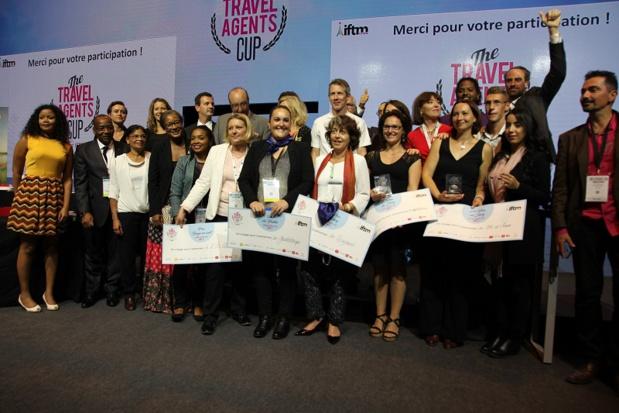 Les gagnants et les partenaires de l'édition 2017 de la Travel Agents Cup Crédit : i-tourisme