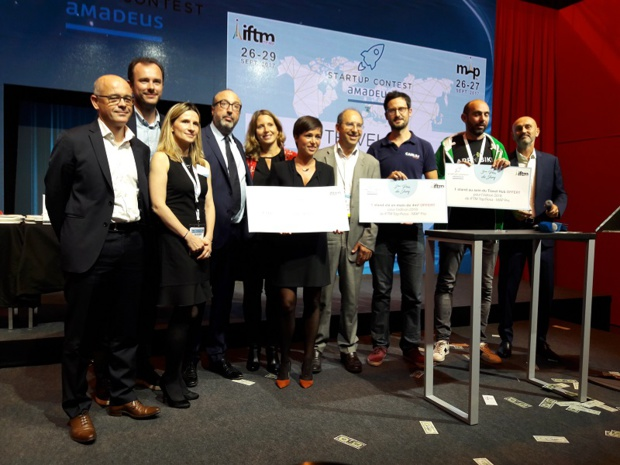 Le palmarès du start-up Contest - Crédit : i-tourisme