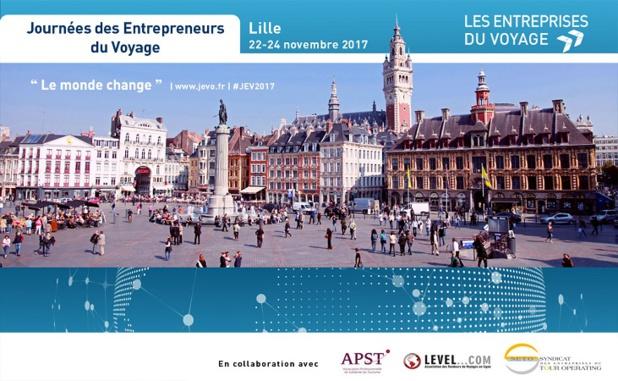 Les 3e Journées des Entrepreneurs du voyage se déroulent à Lille du 22 au 24 novembre 2017 - DR : Les Entreprises du voyage