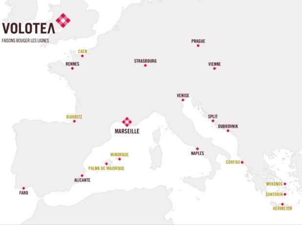 Volotea ouvre sa 5e base française à l'aéroport Marseille Provence
