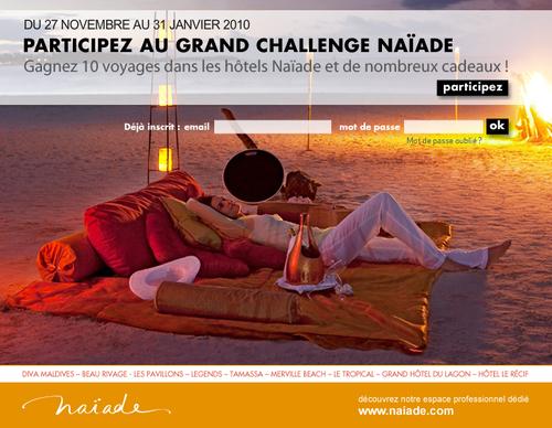 Agences : Naïade fait gagner 10 voyages à l'île Maurice, La Réunion et aux Maldives