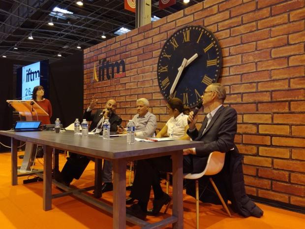 De gauche à droite : Cyril Darbier, Olivier Bonvarlet, Stéphanie Neur et Stéphane Barrand - Crédit photo : RP