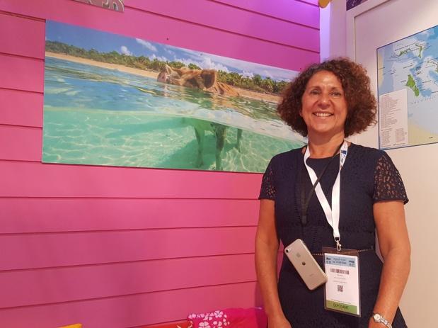 Karin Mallet Gautier est la directrice France, Belgique, Suisse, Espagne et Portugal de l'OT des Bahamas - Photo : P.C.