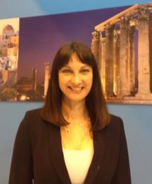 Elena Kountoura, ministre grecque du tourisme - DR : G.B.