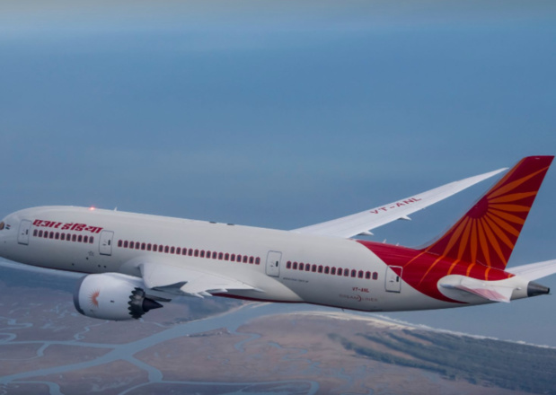 Sur l'axe Paris-New-Delhi, le Dreamliner d'Air India connaît un taux de remplissage moyen de 85% © Facebook Air India
