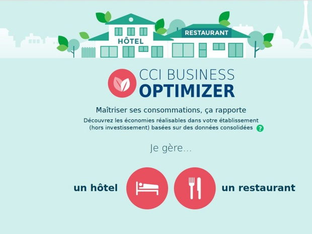 Le site CCI Business Optimizer a été lancé le 26 septembre 2017 à l'occasion de l'IFTM 2017 - Capture d'écran CCI Business Optimizer