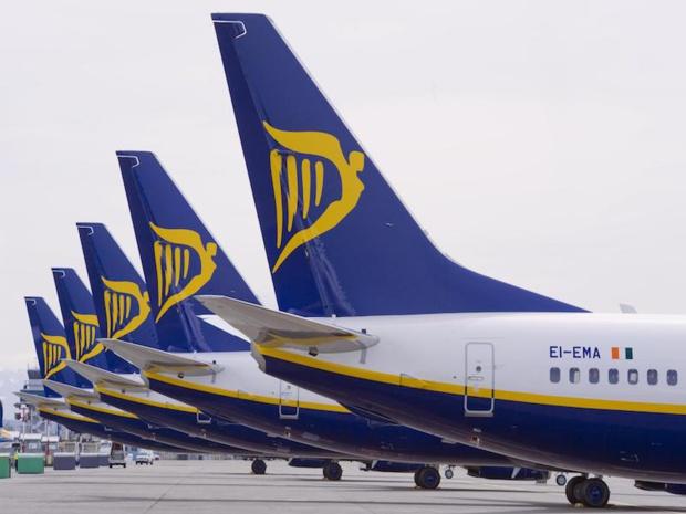 Ryanair annule des vols jusqu'en mars 2018
