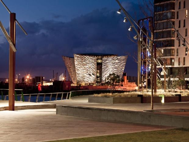 Le musée Titanic à Belfast a été élu « la plus grande attraction touristique au monde » en 2017 - DR : OT Irlande