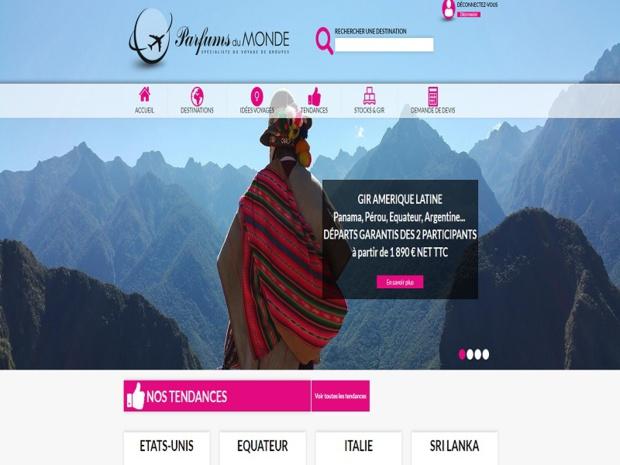 Une nouvelle plateforme web pour Parfums du Monde - Crédit : Parfums du Monde