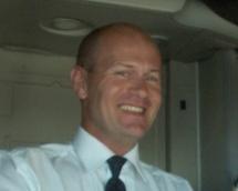 Jacques Biron chef de cabine chez Corsair - DR