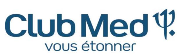 Club Med ouvre ses ventes été 2018