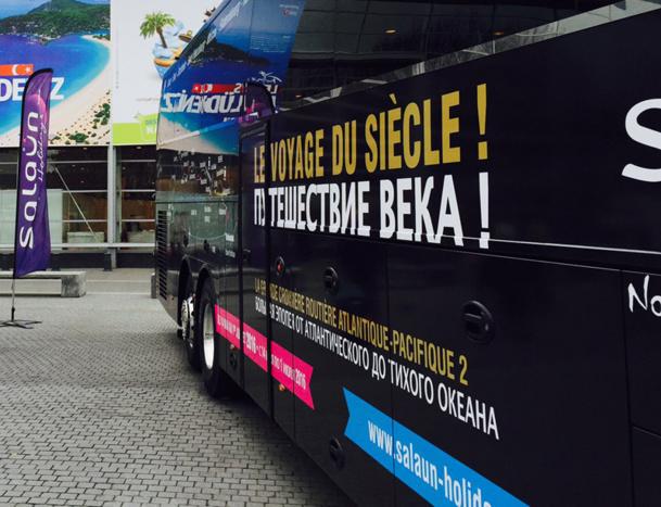 Cette vente n'affectera pas les voyages en autocars pour les clients groupes ou individuels précise le communiqué de presse de Salaün - Photo JdL