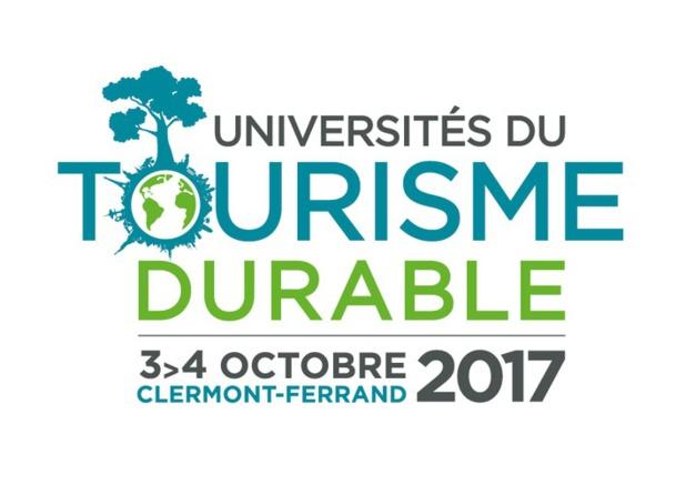 ATD a choisi la capitale de l'Auvergne pour tenir sa troisième université, les 3 et 4 octobre 2017 - DR : Logo Universités du tourisme durable