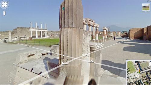 La visite de Pompéi en Italie