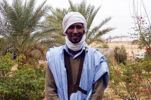 Mohamed Aïdara, gérant du Maure Bleu à Chinguetti