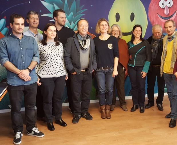 La rédac et toute l'équipe de TourMaG souhaite à Pierre une bonne continuation (à gauche sur la photo) - DR