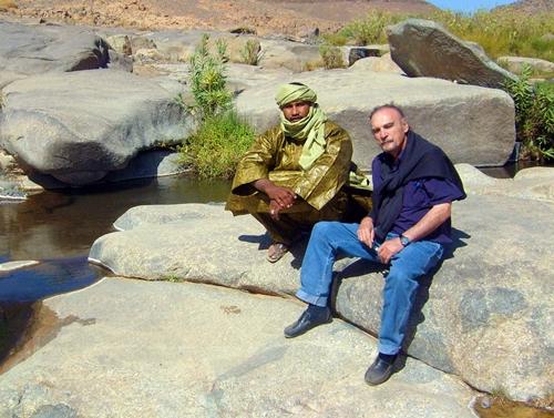 Maurice Freund, dernièrement en Algérie avec un collaborateur, à l'occasion du SITEV / V.N.