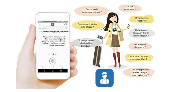 L'application E-concierge doit faciliter les séjours des voyageurs se rendant à Nice - Crédit photo : Aéroport de Nice