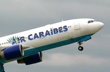 Air Caraïbes : promotions agents de voyages vers Saint-Martin