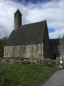 La petite église de Saint Kevin - DR : J.-P. C.