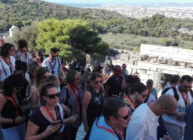 Les 19e forces de vente tourisme de Selectour à Athènes, du 12 au 15 octobre 2017 - DR : J.P.