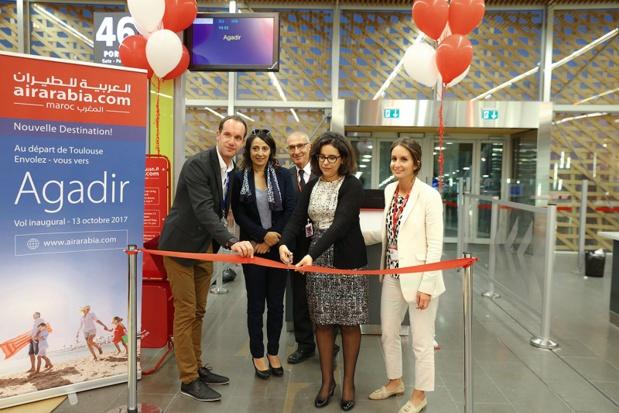 Inauguration à Toulouse de la ligne vers Agadir - DR
