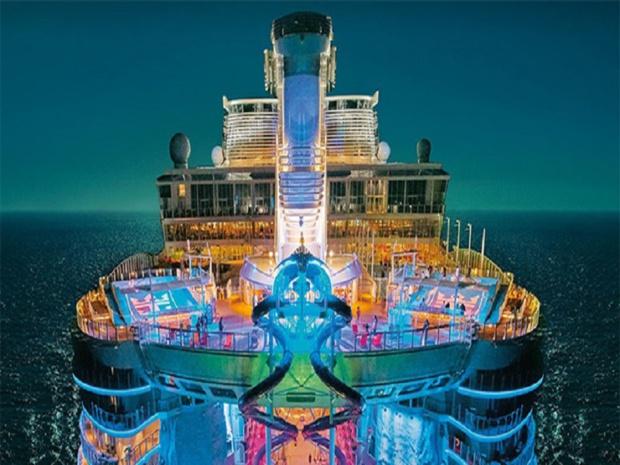 Le Symphony of the Seas va utiliser la reconnaissance faciale - Crédit : Royal Caribbean