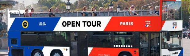 Les 40 bus composant la flotte d'Open Tour seront aux couleurs de la France - Crédit photo : RATP
