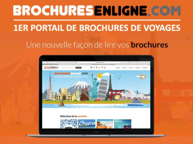 Brochuresenligne.com qui regroupe aujourd'hui près de 90% de la production des professionnels du tourisme candidate aux Palmes du Tourisme Durable