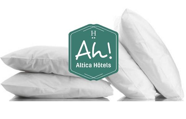 Altica propose des hébergement économiques, avec les codes de l'hôtellerie de luxe - Crédit photo : Altica Hôtels