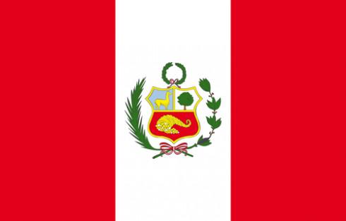 Le drapeau du Pérou - DR