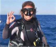 Le personnel est composé de plongeurs, à l'image de Laure Leduc - Crédit photo : Massimo Verde