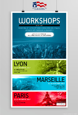 L'office de tourisme des USA organisera 3 workshops en novembre - DR