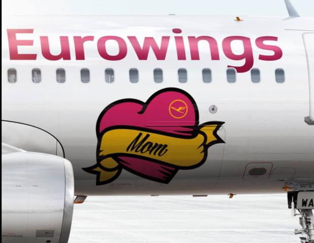 Eurowings devrait récupérer entre 40 et 60 appareils supplémentaires issus de la reprise d'Air Berlin © Eurowings Facebook