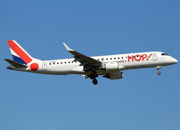 Hop! Air France - avion Embraer 190STD  - DR  Kambui
