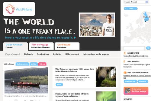 La Finlande lance une campagne ''I wish I was in Finland''
