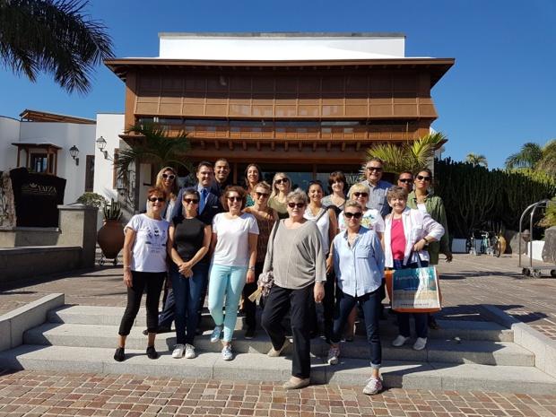 La 7e convention Examonde Voyages s'est déroulée début octobre 2017 à Lanzarote en partenariat avec Thalasso N°1 - Ô voyages - DR : Examonde Voyages