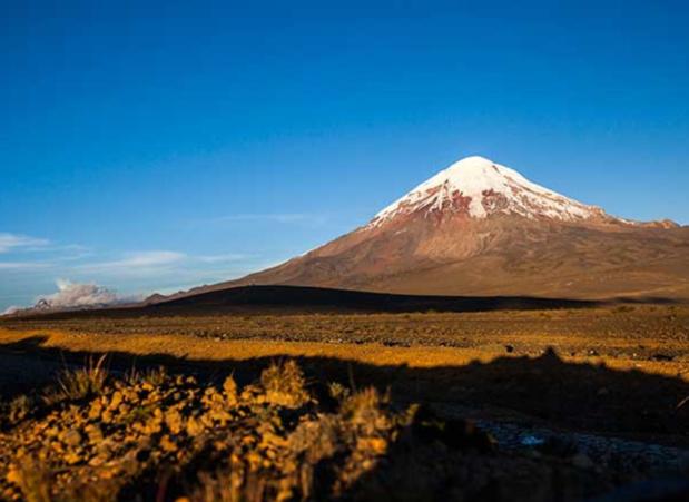 Le volcan Chimborazo, en Equateur, étape du Grand voyage en terre latine © TUI France
